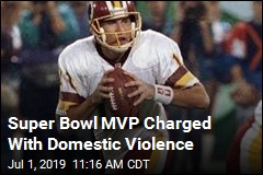 Super Bowl MVP Charged With Domestic Violence