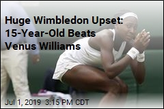 Wimbledon Stunner: 15-Year-Old Beats Venus Williams