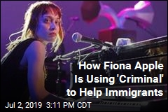 Fiona Apple Using 'Criminal' to Help Refugees
