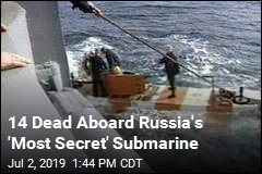 Russia Reveals Deadly Fire on Submarine, Says Little Else