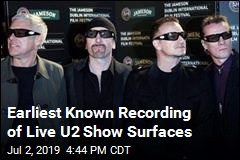 Earliest Known Recording of Live U2 Show Surfaces
