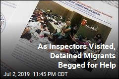 Inspectors Find Severe Overcrowding at Border Facilities