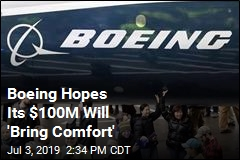 In Wake of 737 MAX Crashes, Boeing Makes a $100M Move