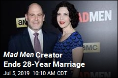 Mad Men Creator Ends 28-Year Marriage