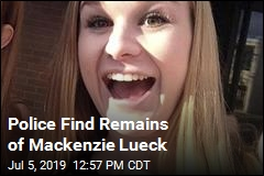 Police Find Remains of Mackenzie Lueck