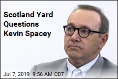 Scotland Yard Questions Kevin Spacey
