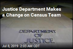 Justice Department Shaking Up Census Team