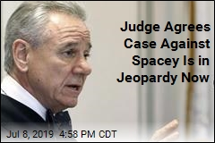 Judge Agrees Case Against Spacey Is in Jeopardy Now