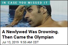 A Newlywed Was Drowning. Then Came the Olympian
