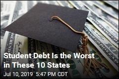 Here Are the 10 States With Most, Least Student Debt