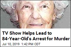 84-Year-Old Arrested for Hubby's Murder 35 Years Ago