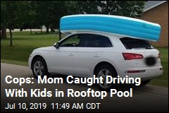 Cops: Mom Caught Driving With Kids in Rooftop Pool