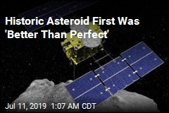 Space Probe Completes Historic Asteroid First
