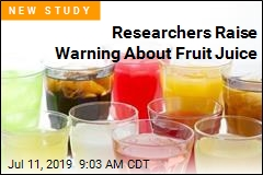 Daily Fruit Juice Linked to Higher Cancer Risk