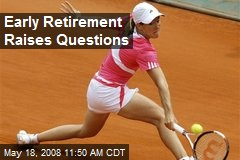 Early Retirement Raises Questions