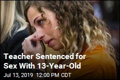 Teacher Sentenced for Sex With 13-Year-Old