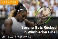 Serena's Wimbledon Goes Down in Flames