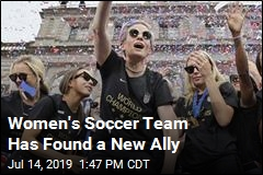 Women's Soccer Team Has Found a New Ally