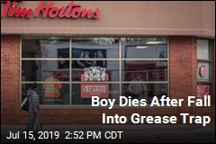 Fall Into Grease Trap at Restaurant Kills Boy, 3