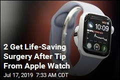 Apple Watch Credited With Saving 2 Lives