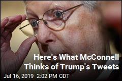 McConnell Weighs In on Trump's Tweets