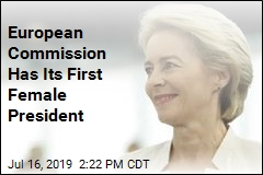 European Commission Has Its First Female President