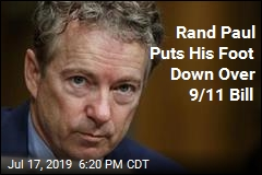 Rand Paul Puts His Foot Down Over 9/11 Bill