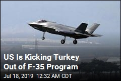 US Is Kicking Turkey Out of F-35 Program