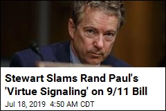 Stewart: Rand Paul's 9/11 Bill Delay Is 'Outrageous'