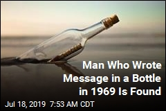 Message in a Bottle Gets Reply, 50 Years Later