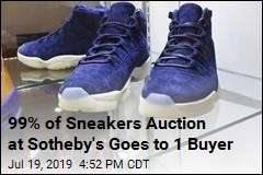 99% of Sneakers Auction at Sotheby's Goes to 1 Buyer