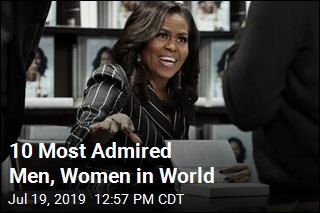 She's the Most Admired Woman in the World