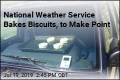 Biscuits Only Baked Halfway in Car, but You Get the Point