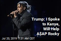 Kanye West Gets Trump to Help A$AP Rocky