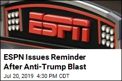 ESPN to Employees: No More Political Commentary