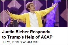 Freeing Kids at Border Would be Good, Too, Bieber Tells Trump