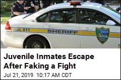 Juvenile Inmates Escape After Faking a Fight