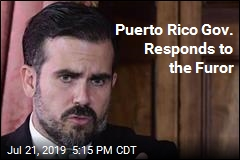 Puerto Rico Gov: I'm Stepping Down, But Not Resigning