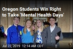 Oregon Students Win Right to Take 'Mental Health Days'