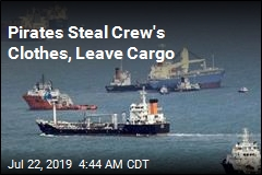 Pirates Steal Crew's Clothes, Leave Cargo