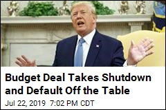 Budget Deal Takes Shutdown and Default Off the Table