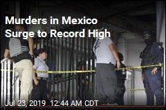 Murders in Mexico Surge to Record High