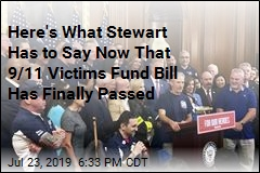 Here's What Stewart Has to Say Now That 9/11 Victims Fund Bill Has Finally Passed
