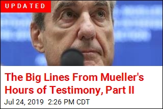 Big Lines From Mueller's Hours of Testimony, Part II