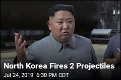 North Korea Fires 2 Projectiles