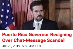 Puerto Rico Governor Will Resign Next Week