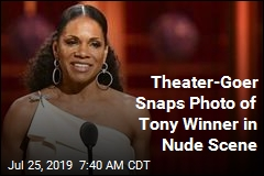 Theater-Goer Snaps Photo of Tony Winner in Nude Scene