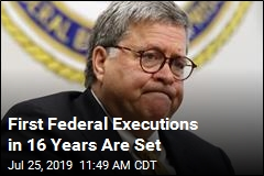 First Federal Executions in 16 Years Are Set