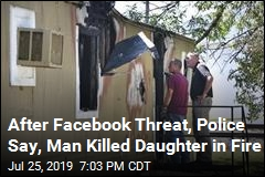 Man Charged in Daughter's Death After Facebook Threat