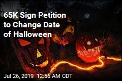 Petition Asks Trump to Move Halloween Date